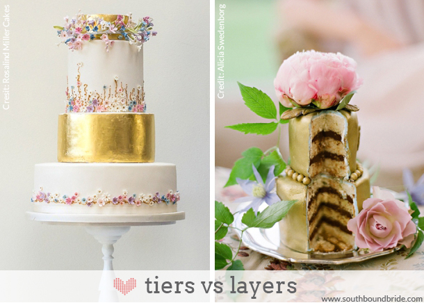 A SouthBound Guide to Wedding Cake Terminology | SouthBound Bride