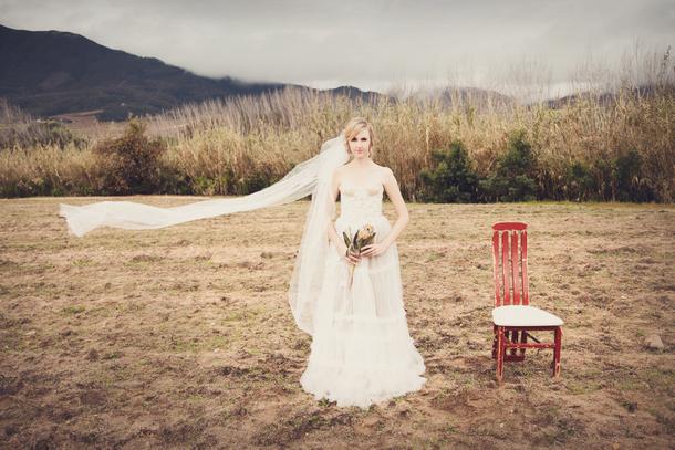 Protea Landscape by Michelle Wiese & Kadou | SouthBound Bride