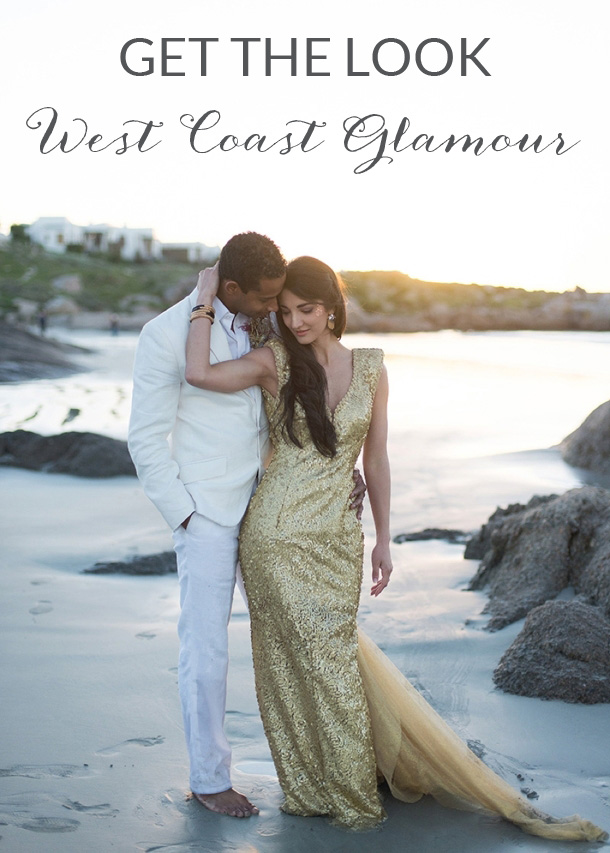 Get the Look: West Coast Glamour | SouthBound Bride