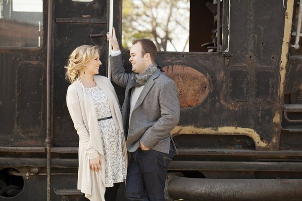 Railway Romance Couple Shoot by As Sweet As Images | SouthBound Bride