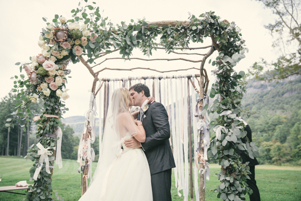 Floral Ceremony Arches | SouthBound Bride