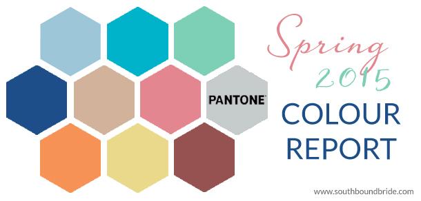 Pantone Spring 2015 | SouthBound Bride