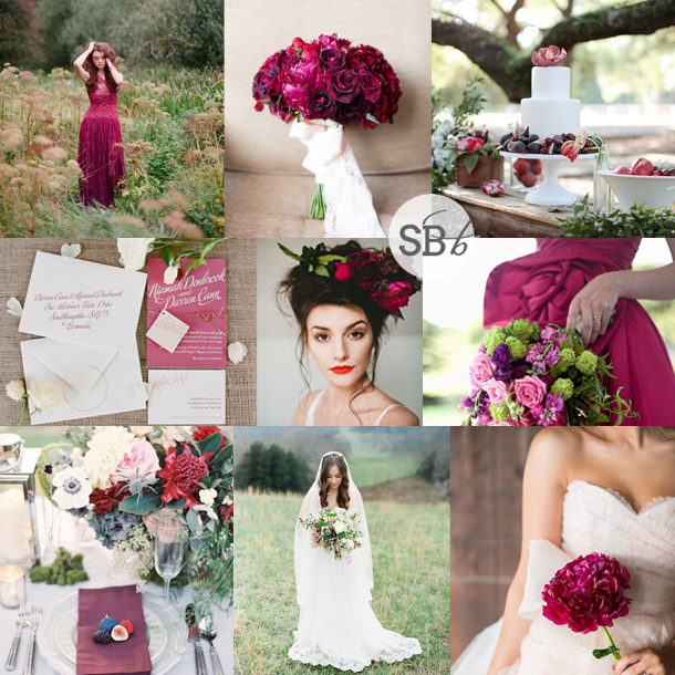 Inspiration Board: Sangria | SouthBound Bride