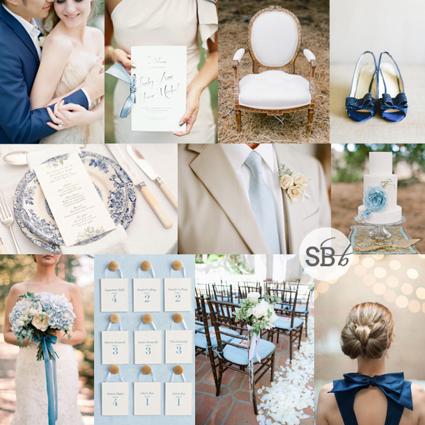 Inspiration Board: Something Blue | SouthBound Bride