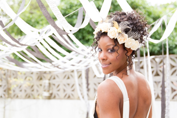African Monochrome Styled Shoot by Maxeen Kim | SouthBound Bride