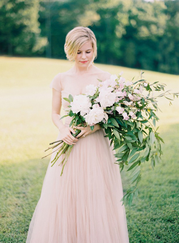 Pink & Blush Wedding Dresses | SouthBound Bride