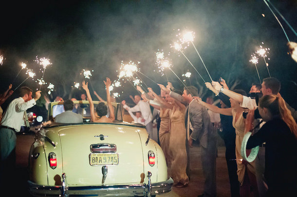 Sparkler Send Offs | SouthBound Bride