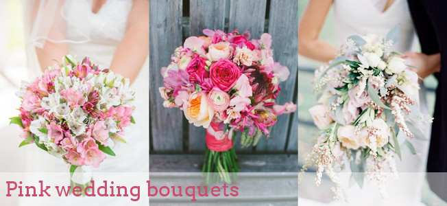 002-southboundbride-pink-wedding-bouquets