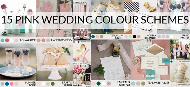 pink-wedding-color-schemes