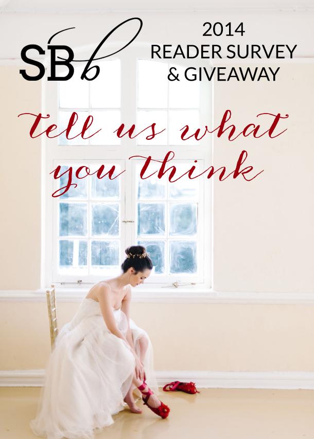 The SBB 2014 Reader Survey | SouthBound Bride
