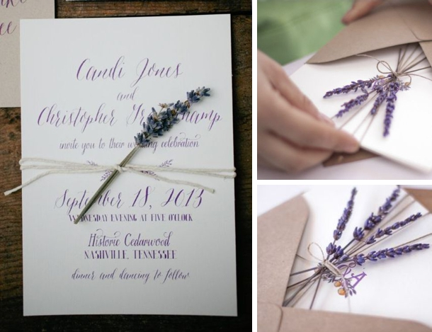 20 Lavender Wedding Ideas