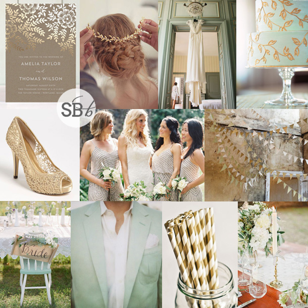 Inspiration Board: Golden Leaves | SouthBound Bride