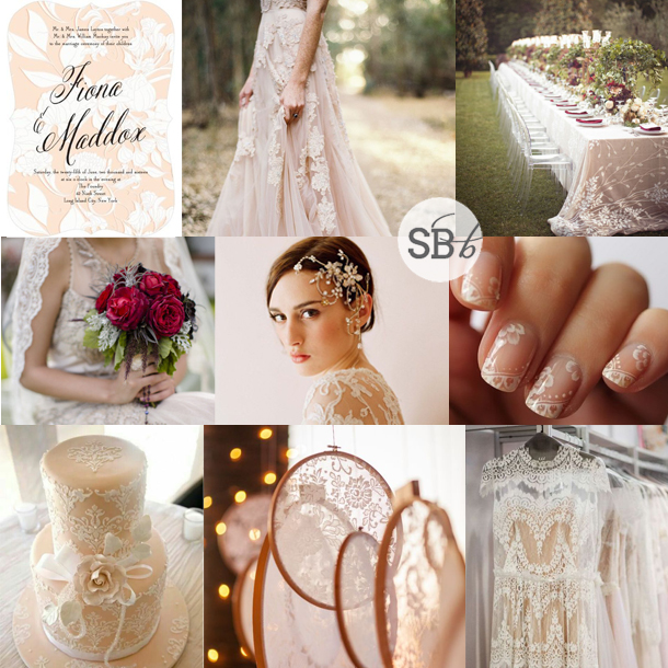 Inspiration Board: Lace Tattoo | SouthBound Bride