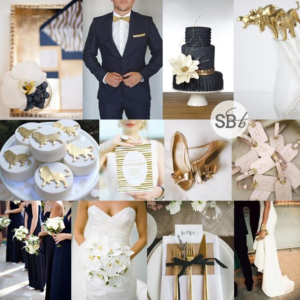 Inspiration Board: Glam Safari | SouthBound Bride