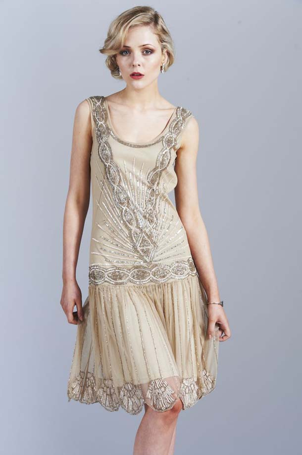 Gatsby Glam Bridesmaid Dresses from Frock and Frill | SouthBound Bride