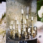 Inspiration Board: Hydrangea & Brass