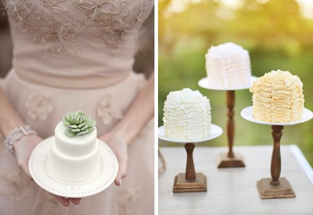 20 Individual Wedding Cakes