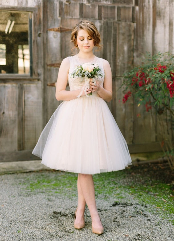 Wedding Reception Dresses For The Bride Short 9