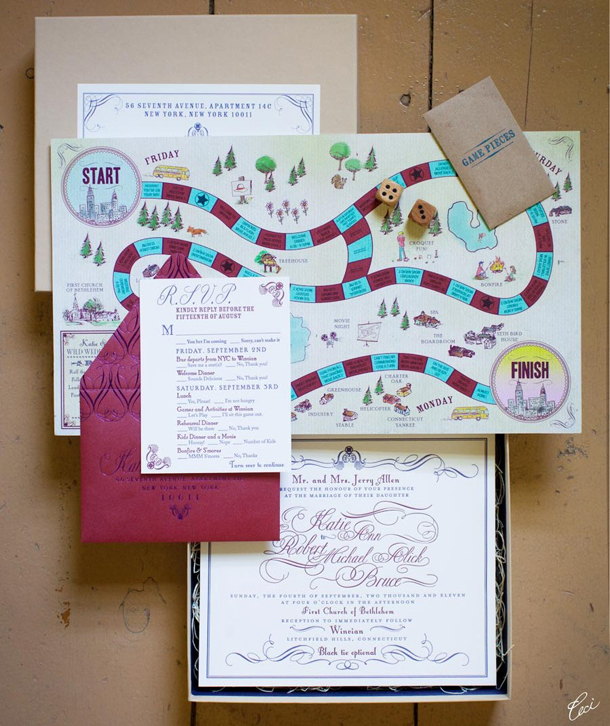 10 Unique Creative Wedding Invitation Packages