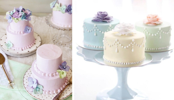 Most wedding cakes for the holiday: Mini wedding cake decorations