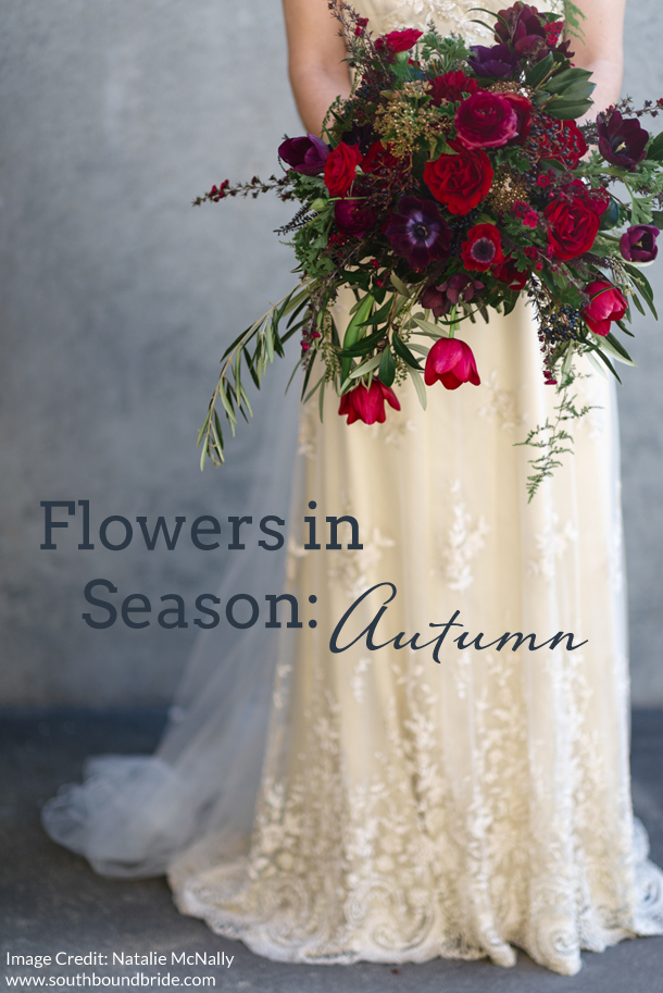 Wedding Flowers For May Season : Autumn wedding inspiration southbound bride part