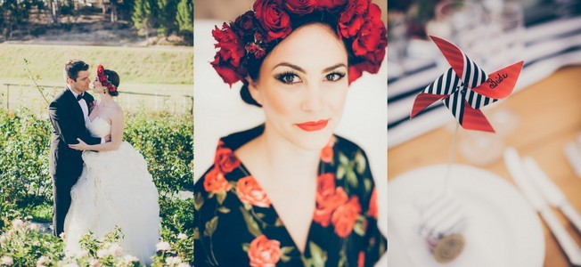 002-A&N-red-roses-monochrome-stripes-wedding-fiona-clair