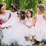 Vintage Floral Farm Wedding by Cari Photography {Rieke & Jurgens}
