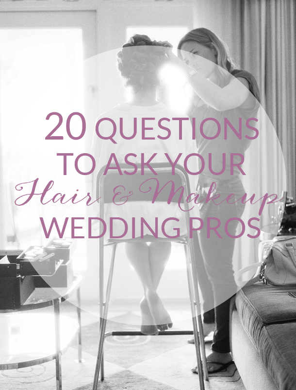 How to Choose a Wedding Hair & Makeup Artist