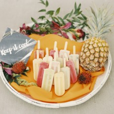 Tropical Brights Wedding Inspiration by Krista A. Jones & Bustle Events
