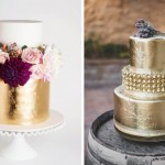 20 More Metallic Wedding Cakes
