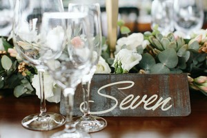 008-Industrial Chic Wedding Table Numbers