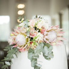 Blushing Bride Protea Wedding at White Light by As Sweet As Images